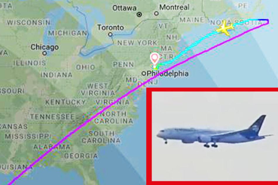 Zwischenlandung: Flugzeug muss auf Weg nach London plötzlich umdrehen!