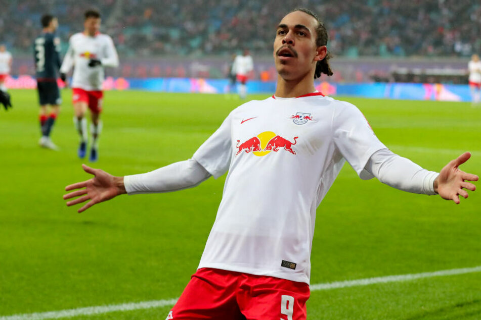 Herzlichen Glückwunsch! Der RB-Leipzig-Stürmer ist zum ersten Mal Vater geworden.