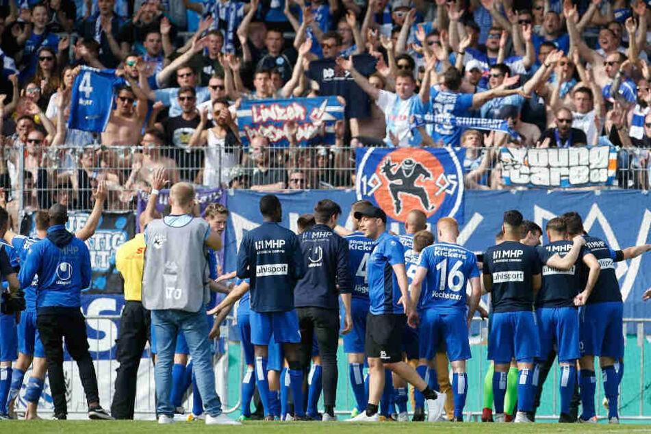 Stuttgarter Kickers verpassen Aufstieg. (Symbolbild)