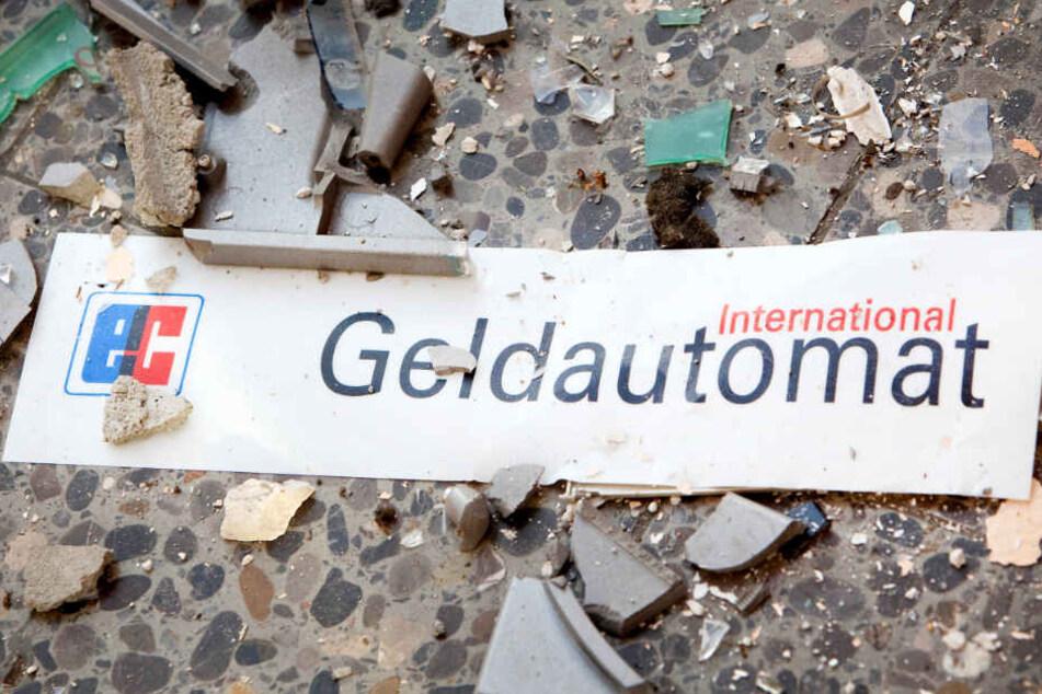 Ein Geldautomat wurde in Kiel in die Luft gesprengt. (Symbolbild)