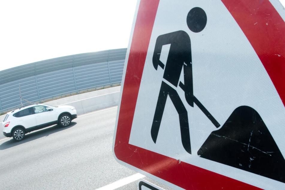 Autofahrer müssen sich ab Montag auf neue Baustellen auf den Autobahnen einrichten.
