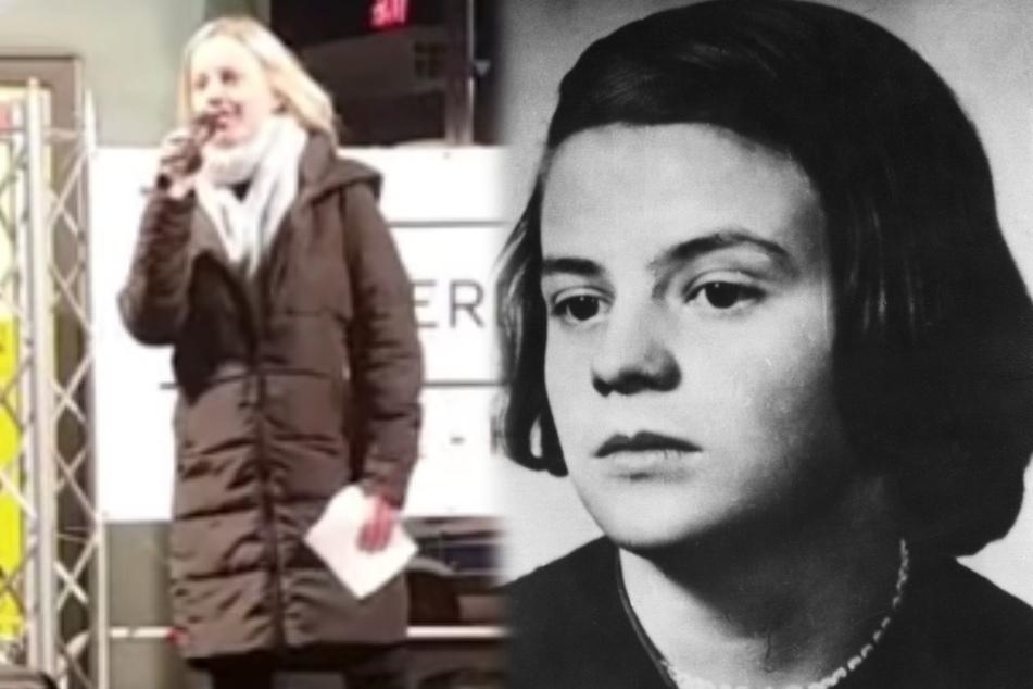 """""""Jana aus Kassel"""" vergleicht sich mit Sophie Scholl, deren Neffe wehrt sich jetzt"""