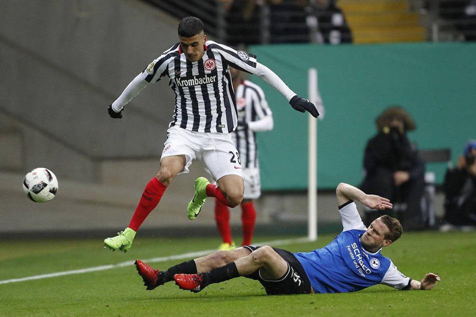 Gegen Eintracht Frankfurt kam der 31-Jährige Brandy zuletzt zum Einsatz.