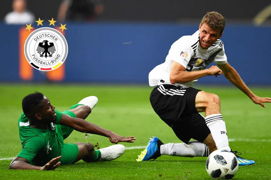 Trotz viel Sand im Getriebe: DFB-Team besiegt Saudi-Arabien