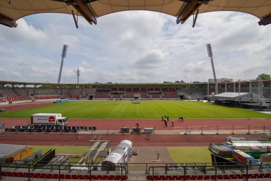 Im November soll das Stadion endgültig fertig sein.