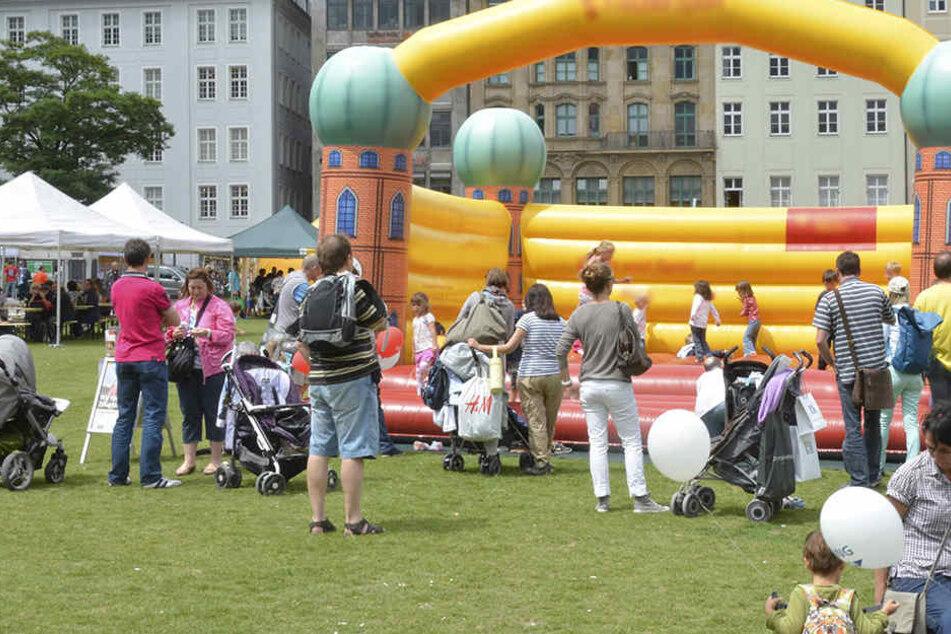 Vierjähriger wird von Hüpfburg geschleudert und schwer verletzt