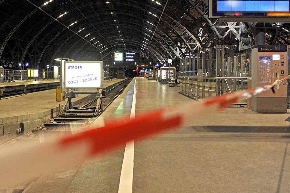 Verdächtiger Karton! Teile des Leipziger Hauptbahnhofs gesperrt
