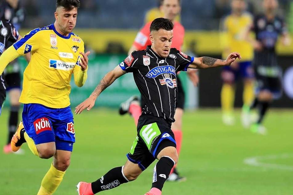 Sascha Horvath (r). spielte zuletzt für den SK Sturm Graz.