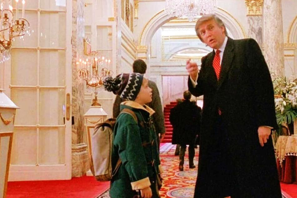 Donald Trump Kevin Allein In New York
