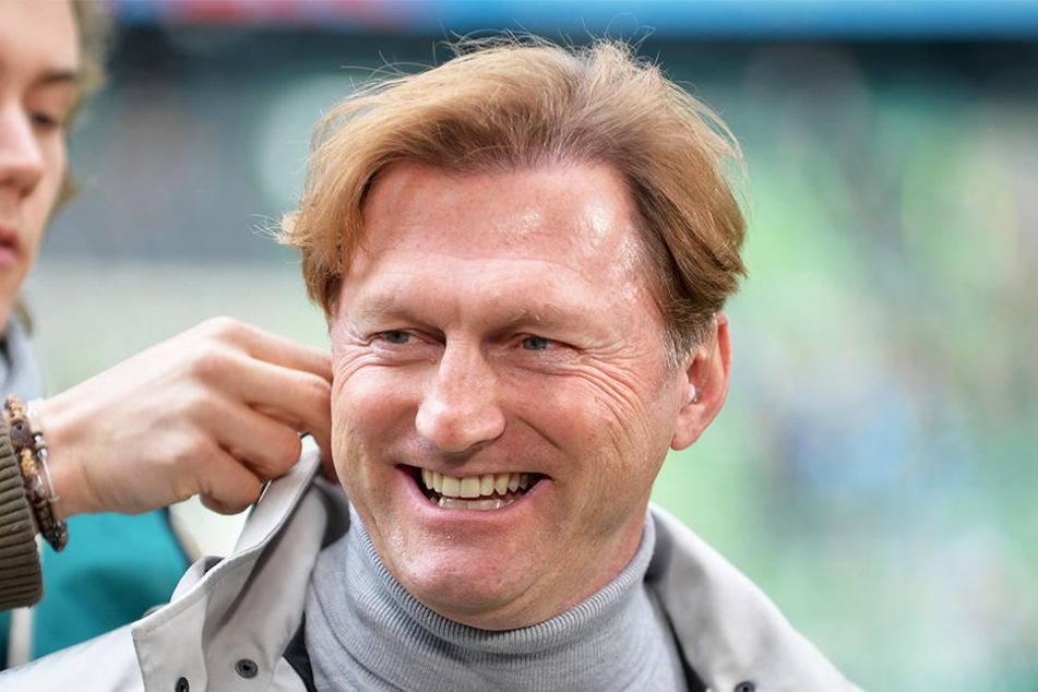 Auch nach der Bremen-pleite hat RB-Trainer Ralph Hasenhüttl (49) seinen Optimismus nicht verloren.