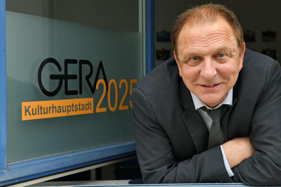 Geras Kulturmanager Peter Baumgart.