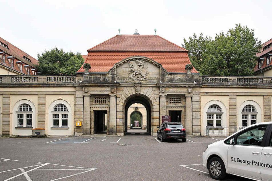 Am Dienstag treffen sich ver.di und die Geschäftsführung des St. Georg Klinikums wieder zu Tarifverhandlungen. (Archivbild)