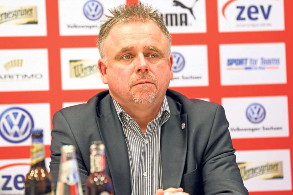"""""""Wir werden Lizenzunterlagen für die Teilnahme an der 2. Bundesliga, der 3. Liga und der Regionalliga einreichen"""", berichtet Geschäftsführer Frank Fischer."""