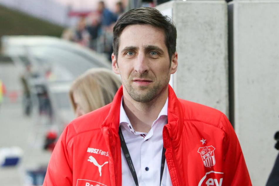 FSV-Geschäftsführer Christian Breiner ist überzeugt, dass der Verein sich auch selbst vermarkten kann.