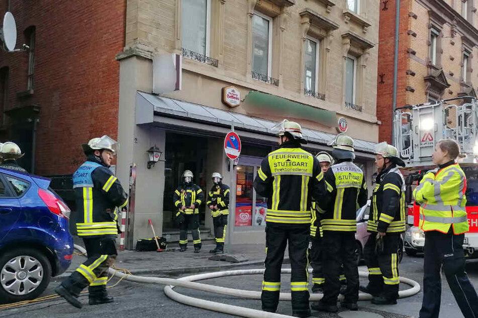 Stuttgart: Satter Sachschaden nach Brand in Stuttgart-Mitte