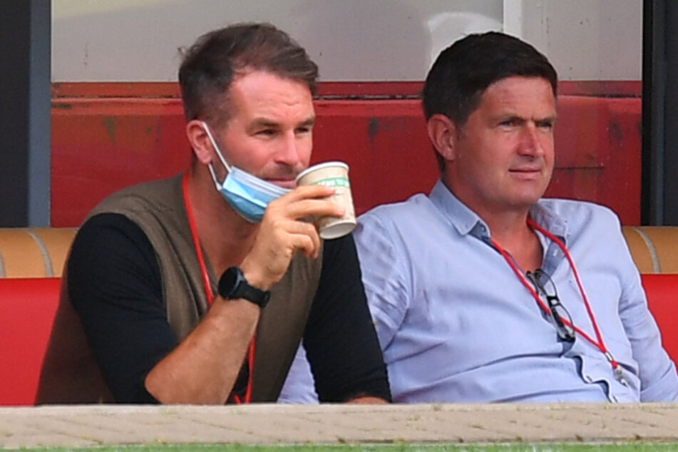 Suchen noch einen für rechts hinten: Wen haben Chefscout Kristian Walter (links) und Sportchef Ralf Becker im Blick?