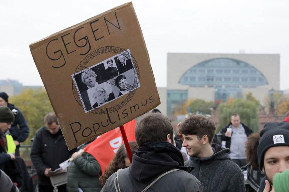 Rund 70 Prozent der deutschen Wähler vertreten keine populistischen Ansichten.
