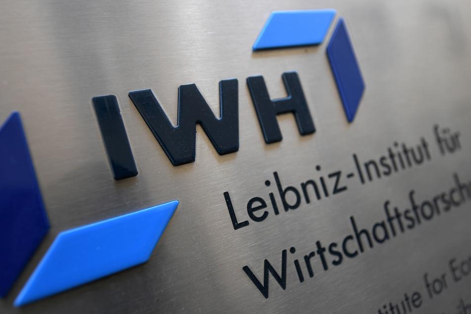 Das Logo des Leibniz-Instituts für Wirtschaftsforschung Halle (IWH).