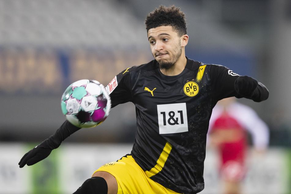 Jadon Sancho (21) dürfte wohl seine letzte Saison für den BVB absolviert haben.