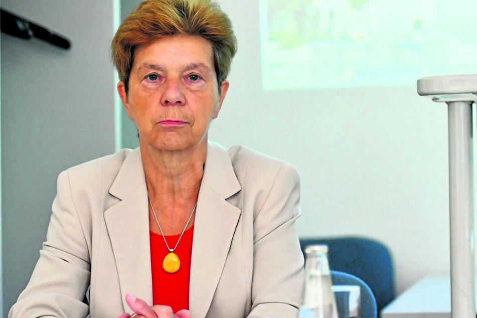 Gerlinde Schneider (64), Präsidentin der sächsischen Landesuntersuchungsanstalt.