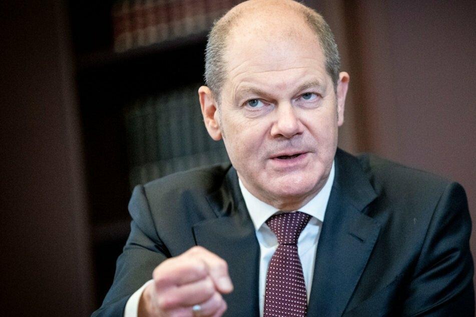 Bundesfinanzminister Olaf Scholz (62, SPD) sieht sich schweren Vorwürfe ausgesetzt. (Archiv)