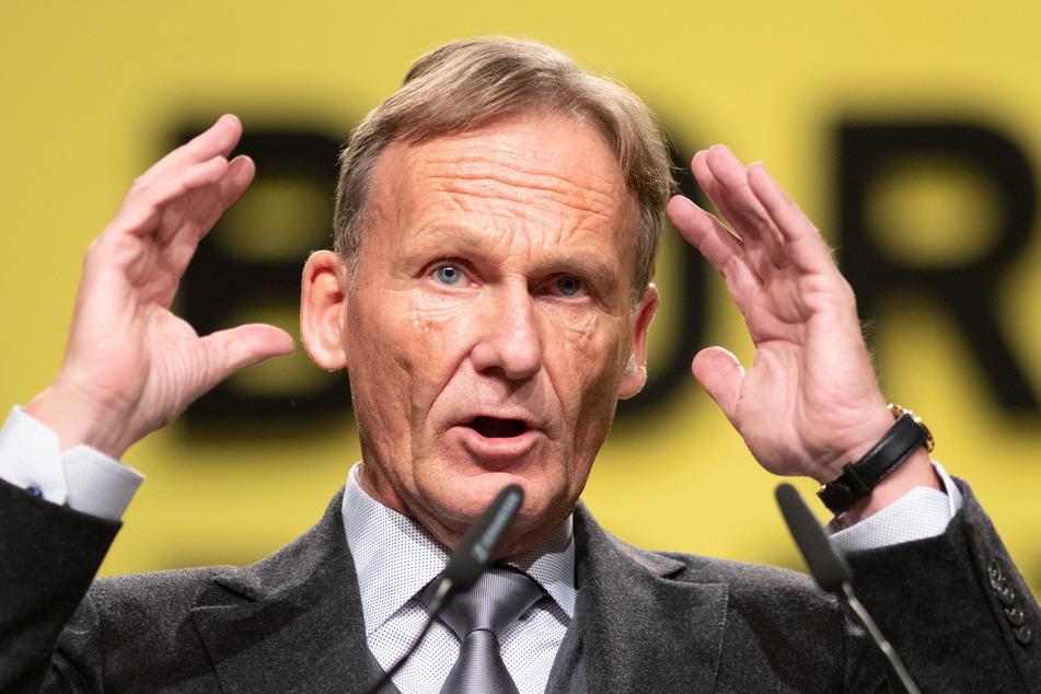 Hans-Joachim Watzke (61) spricht über die Zukunft seines Sturm-Juwels.
