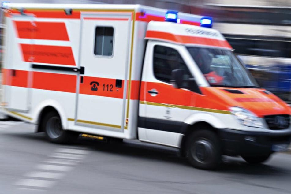 Die alte Dame musste stationär in ein Krankenhaus aufgenommen werden. (Symbolbild)