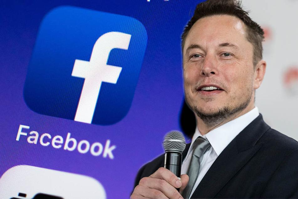 Elon Musk löscht Facebook-Seite von Tesla und SpaceX