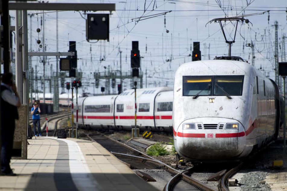 Die Bahn treibt den Ausbau der Strecke Berlin-Dresden voran (Symbolbild).