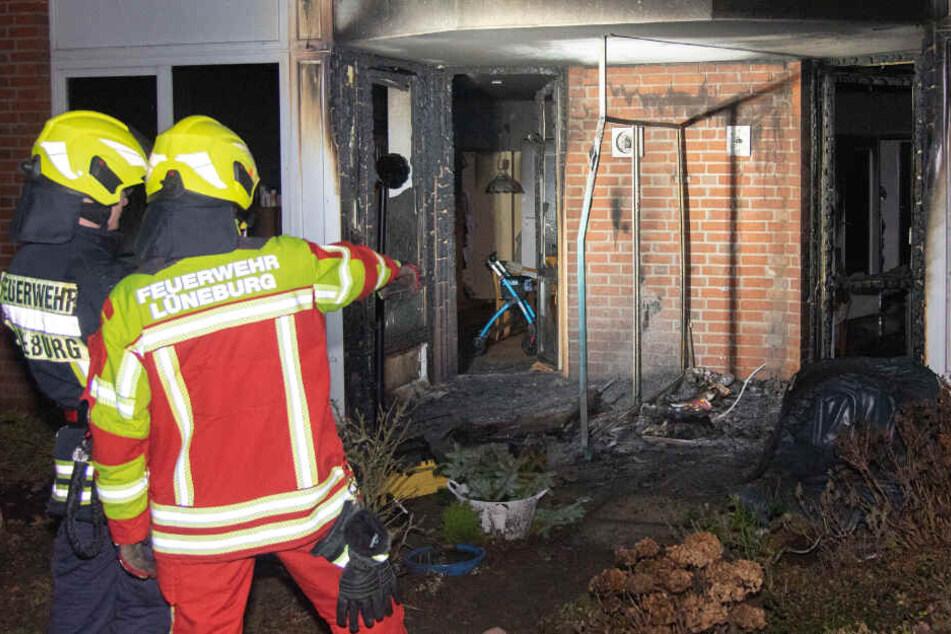 Brand in Seniorenheim: Drei Bewohner verletzt