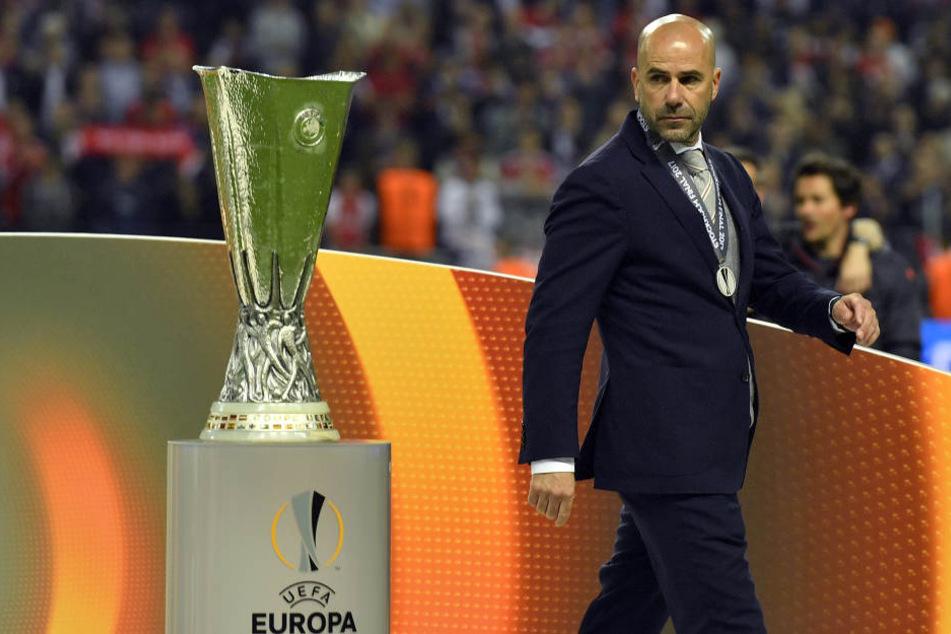 Bosz stand als Trainer mit Ajax Amsterdam im Finale der Europa League.