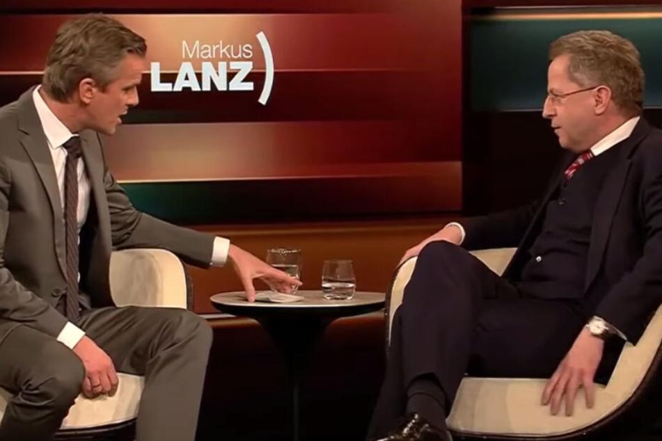 """Maaßen provoziert Markus Lanz: """"Aber es sind ja keine Flüchtlinge"""""""