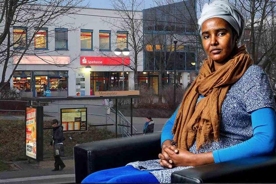 Äthopierin Awo D. (19) wurde von Rassisten angegriffen. Auf Bildern konnte sie nun den ersten Täter identifizieren.