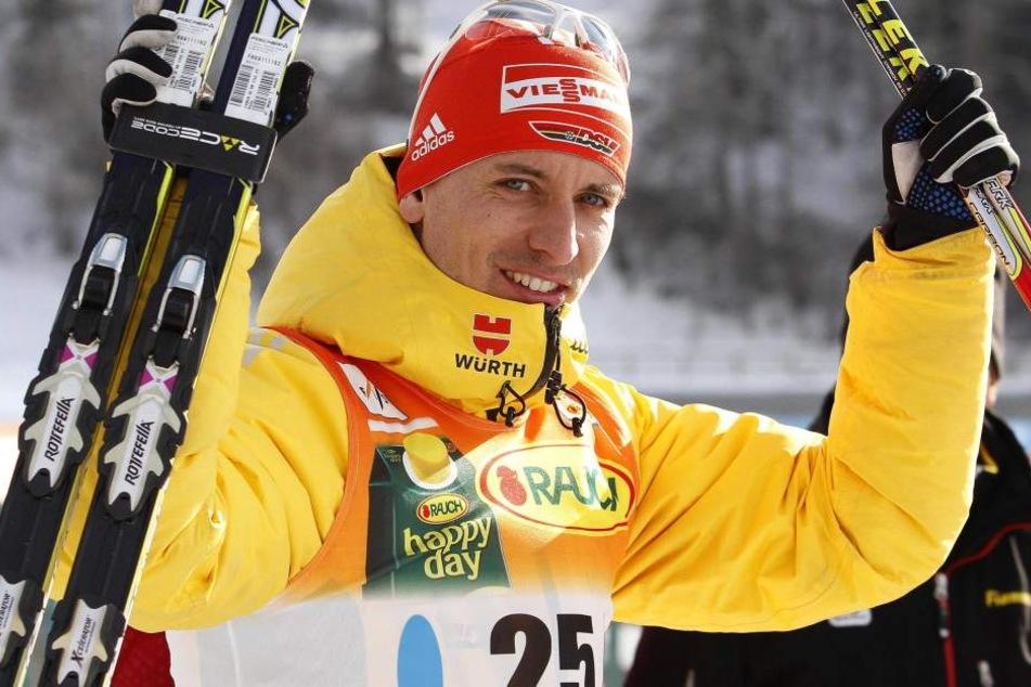 Nach vier Jahren steht Kombiniere Björn Kircheisen in Sapporo wieder auf dem Podest.