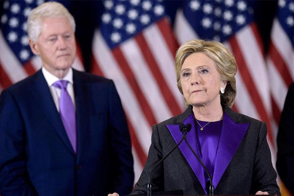 Bill (72) und Hillary Clinton (70).