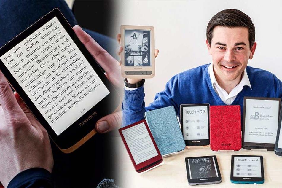 In einem Jahr 320.000 Lesegeräte verkauft: Kleine Sachsen-Firma ärgert Amazon