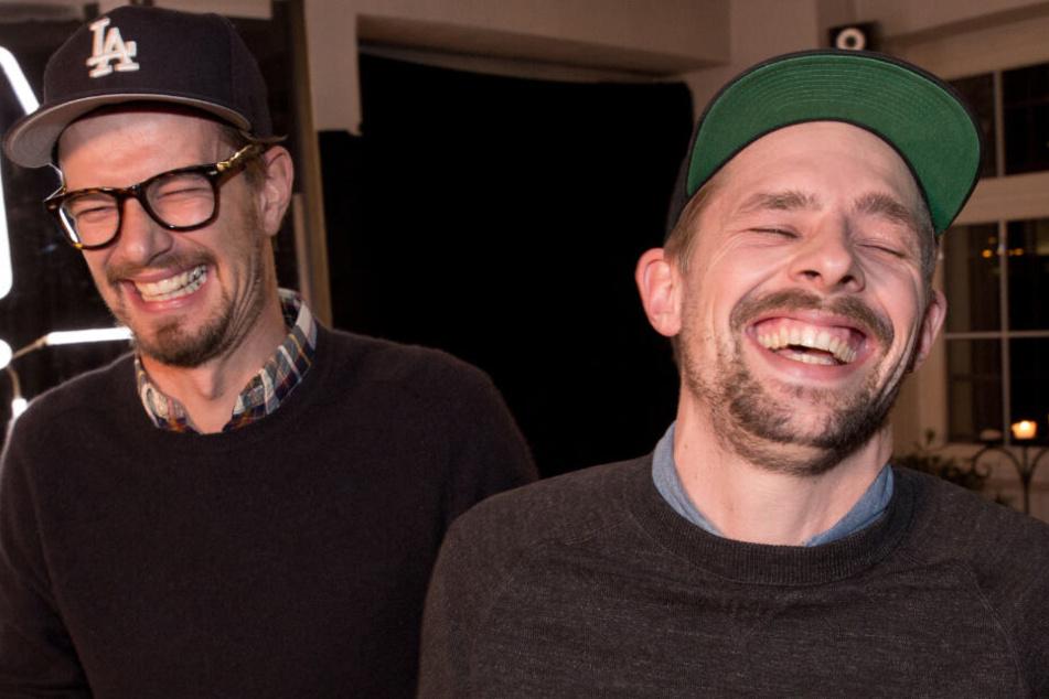 Joko Winterscheidt (l.) und Klaas Heufer-Umlauf haben in ihren Sendungen gut lachen.