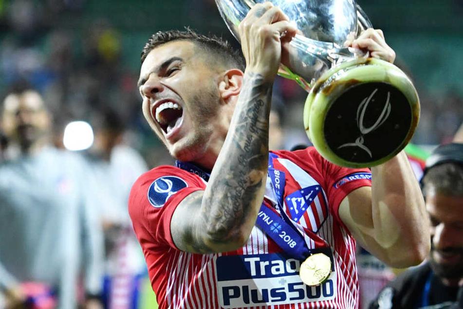 Lucas Hernandez von Atlético Madrid soll zum Rekordmeister aus München wechseln.