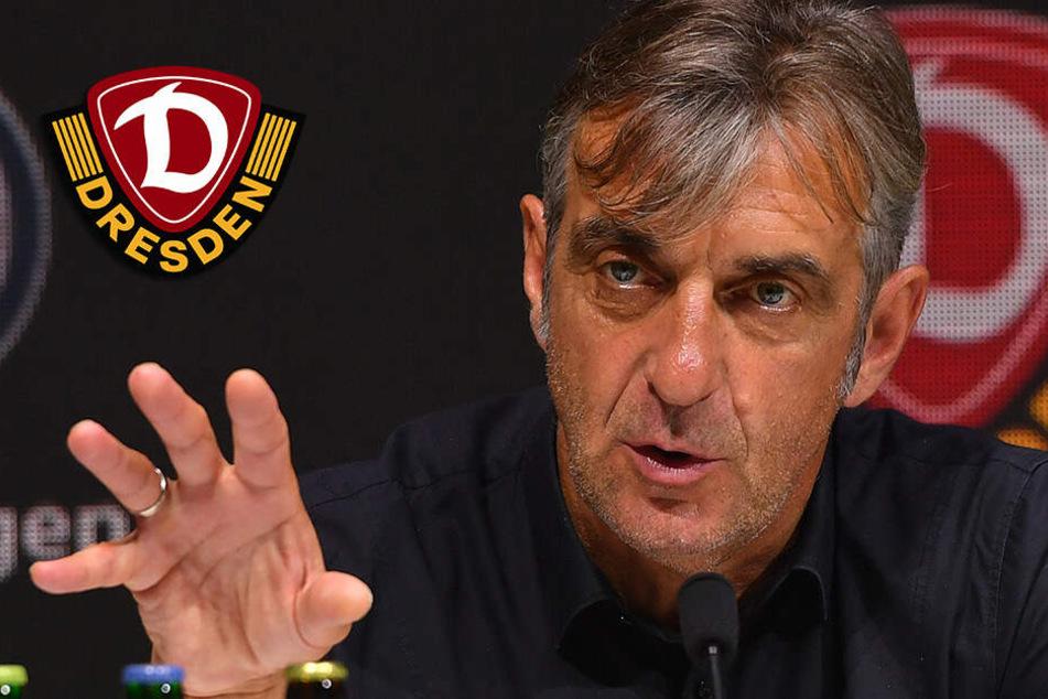 Dynamo: Selbstkritischer Minge will im Winter über 1,7 Millionen Euro in Neuzugänge investieren