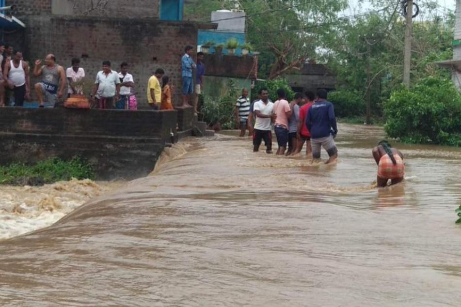 In Odisha mussten mehr als 300.000 Bewohner in Notunterkünfte gebracht werden.