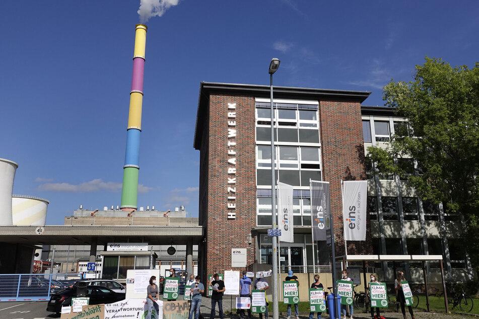 Chemnitz: Chemnitz: Neue Proteste gegen Kraftwerk-Pläne