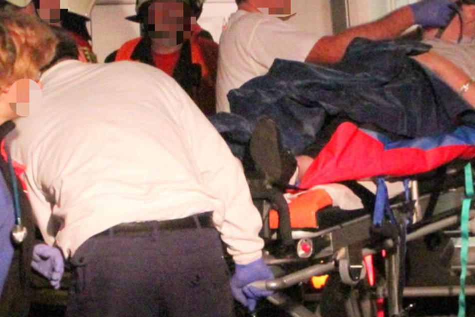Die Verwundeten wurden vom Rettungsdienst versorgt und in Kliniken gebracht (Symbolbild).