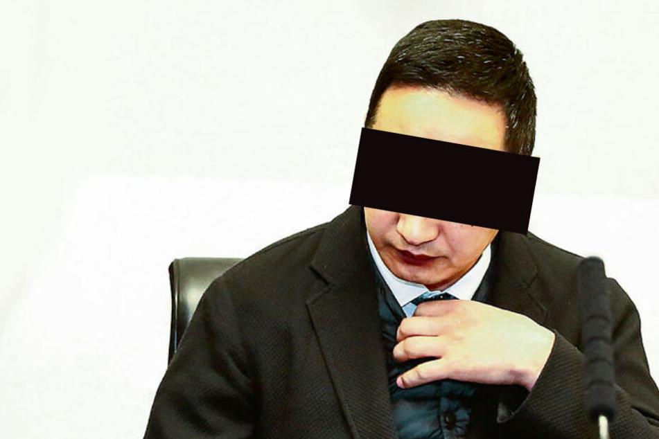 Vize-Konsul Battushig B. (40) will am liebsten hinter verschlossenen Türen verhandeln.