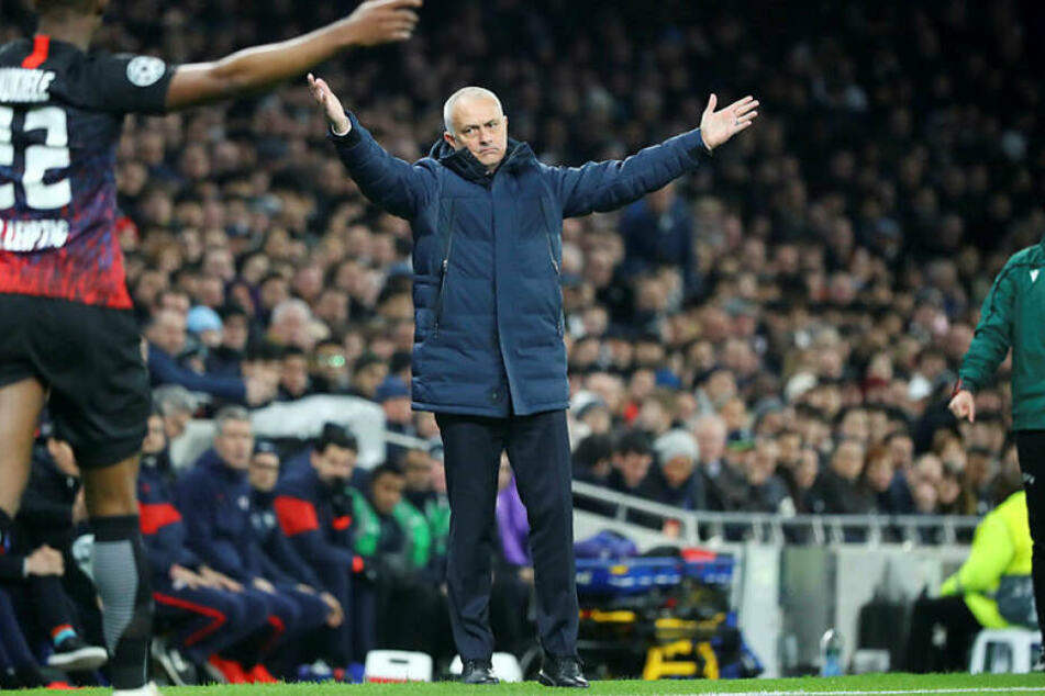 """The Special One"" José Mourinho hatte sich den Champions-League-Abend sicher anders vorgestellt."