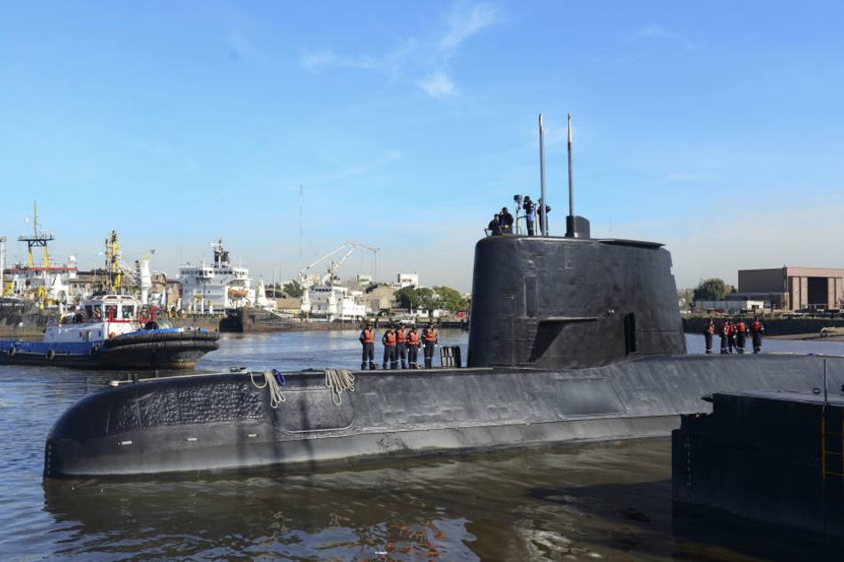 "Das U-Boot ""ARA San Juan"" wird seit vergangenem Mittwoch vermisst."