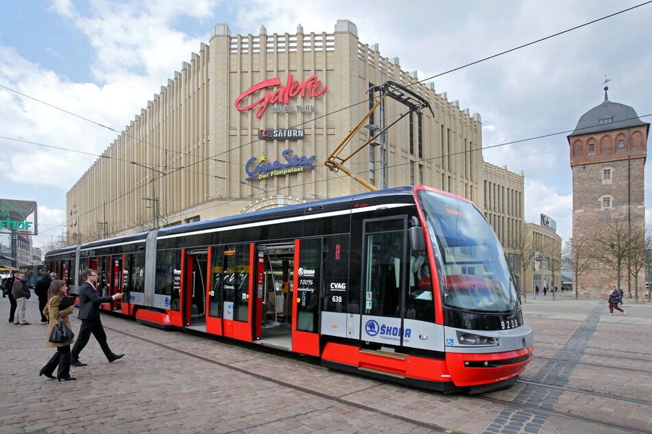 Die CVAG befördert Menschen in Chemnitz sicher von A nach B. (Foto: Uwe Meinhold)