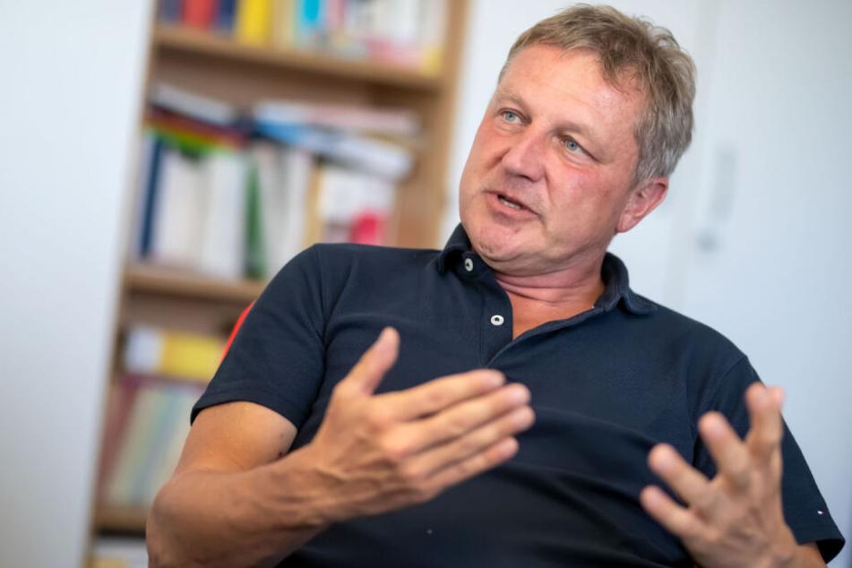 Dirk Morgenstern (48) glaubt noch immer, dass sein Sohn Christian ermordet wurde.