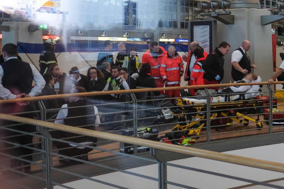 Im Terminal kommt es immer wieder zu kuriosen Unfällen. (Symbolbild)