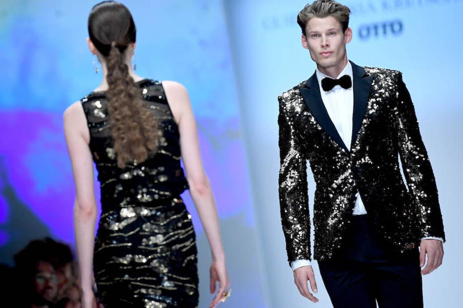 Kretschmer präsentierte Mode für Männer und Frauen.