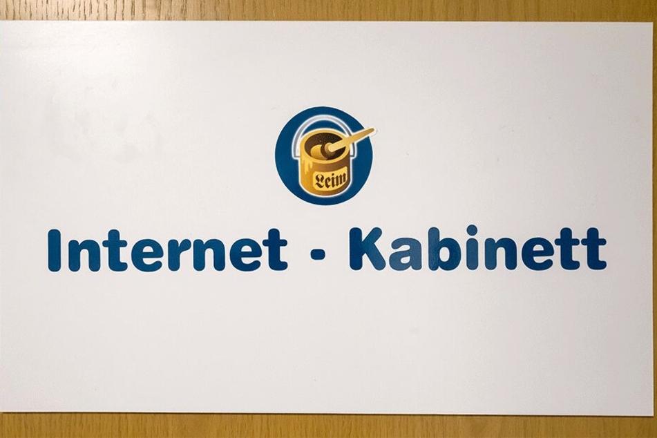 Das Internet-Kabinett muss vorläufig geschlossen bleiben.